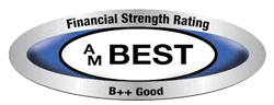 Financial Strength Rating AM Best B++ Good